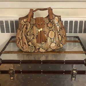Gucci Python handbag